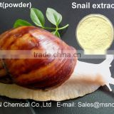 Hot sale Cosmetic Use anti-aging Snail Extract Powder