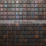 gorgeous and fashional antique copper metal mosaic tiles for antique metal tile wall decoration