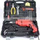 Hardware tool kit German home kit electrical maintenance combination suit sets with drill
