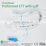 Preformed Endotracheal Tube Surgical Supplies                                                                         Quality Choice