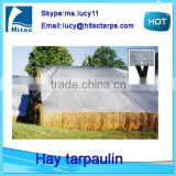 windproof heavy duty hay tarps tarpaulin,round bale hay tarps covers,hay bale covers                                                                                                         Supplier's Choice