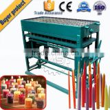 The latest technology automatic taper candle making machine product line