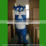2015 cheap mascot costume for sale good design blue cat tom mascot costume for adult
