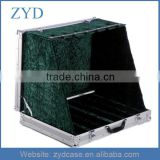 High Grade Custom Box Type and Aluminum Material 6 Electric Guitar Display Case ZYD-HZMgtc005