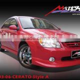Fiberglass bodykits for 03-06-CERATO