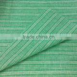 Stripe Woven 55% Linen 45% Cotton Yarn Dyed Fabric