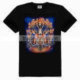 OEM 3d Printing Factory High quality old skull t-shirt, cotton city t shirts, 100 cotton cheap t shirts