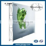 10ft Curved Fabric Exhibition Display Backdrop Trade Show Pop Up Booth Stand & Graphic