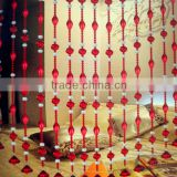 china bamboo beaded painted door curtain