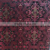 arabic style leather like upholstery fabric for antique furniture