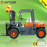 Inquiry about HYTGER Factory Price 5 Ton Double Front Wheels Forklift Truck                                                                        Quality Choice