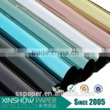 beauty colorful aluminum film metallized polyester film transparent pvc film                                                                         Quality Choice