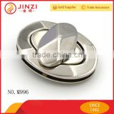 JINZI Metal oval shape twist lock metal locks for purses/bags/boxes/luggages