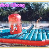 cheap inflatable bungee run, inflatable bungee challenge trampoline for sale, inflatable sport game