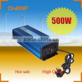 500W Energy Saving DC to AC High Frequency Electricity Complementary Inverter With Battery Charger