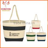 Wholesale New Design Cheap 24 16 14 OZ. Cotton Blank Canvas Tote Bag With Rope Handles                                                                         Quality Choice