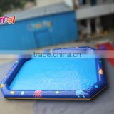 Commercial customized size inflatable air tight pool