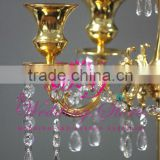 Wedding Candelabra Centerpieces, Gold Plated Candle Holders Candelabras Sale