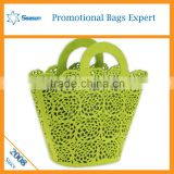 Wholesale wool felt dirty laundry bag storage box with open front                                                                                                         Supplier's Choice