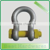 US Type Bow Shackle with Safety Pin