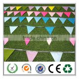 2016 hot sale eco- friendly flags mini felt bunting banner from china gold supplier