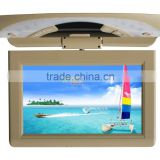10.1inch flip down lcd monitor bus roof mount tv with av input