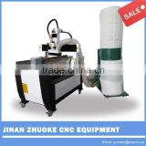 Mini Desktop cnc router 4 axis 6090/ 2.2KW cnc machine for aluminium/ cooper relief ZK-6090 600*900mm