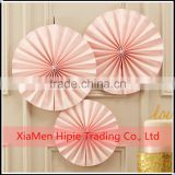 NEW Paper Rosettes Fans Pretty Pink backdrop paper flower decoration                                                                         Quality Choice