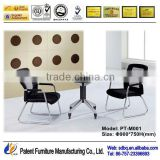 Foshan hot sale modern office furniture table design/tempered glass coffee table PT-M001