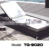 Best Selling Rattan Outdoor Furniture Durable Chaise Lounge Outdoor Luxury Beach Chair Rattan Daybed