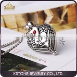 KSTONE Best Cheaper Ash Urn Jewelry Stainless Steel Eternal Love Cremation Cat Face Keepsake Urn Pendant With Rhinestone For Pet