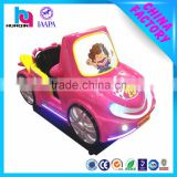 3D video music flashing led light racer amusement kid car swing car coin operated game machine