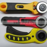 Manufore Hand Rotary Cutter 45mm Dia Blades Carpet Cutter with Blade