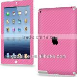 Multi Color Carbon Fiber Sticker for iPad Air / iPad mini with Screen Protector Factory in China