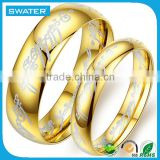 Fashion Accessories Factories Arabic Gold Wedding Rings