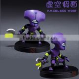 Dota2 faceless void 3D plastic PVC anime action figure cartoon model toys Customize hero pvc 1/6 collection oem odm funko pop