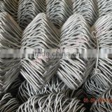 Hot sale!!!50x50mm opening Chain Link Netting/Sports ground fence