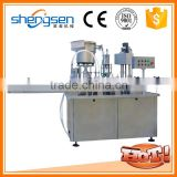 Automatic Aerosol Filling And Capping Machine For Plastic Bottles