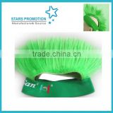 synthetic Mohawk wig; promotional mohawk wig with logo; customized wig