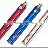 2015 hot new product evod twist battery, 3000 mah battery e-cigarette ego china supplier