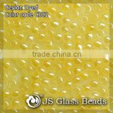 High Quality Fashion JS Glass Seed Beads - C002# Ceylon Orange Opalescent Rocailles Beads For Garment & Jewelry