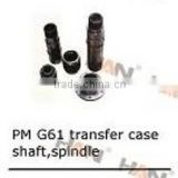 Putzmeister G61 transfer case shaft, spindle for concrete pump spare parts sany cifa zoomlion junjin ihi
