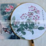 Chinese Style Dancer Plum Flower Silk Folding Hand Fan for Event Party Supplies