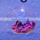 European-style Transparent Quality Of High-grade Crystal Glass Vase Water Vase Hanging Home Decorations