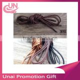 Custom colorful polyester ribbon shoelaces