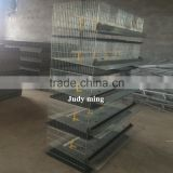 Commercial quail layer cage pvc coating wire mesh layer quail cages for sale chicken cage for big farm