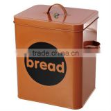 Galvanized rectangle bread storage cans