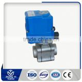 Reduce port ball valve electric actuator flange ball electric ball valve stainless steel