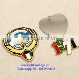 China wholesale U.A.E commemoration flag enamel lapel pin badge, butterfly clutch back, United Arab Emirates pin badge