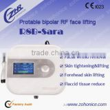 portable bipolar rf radio frequency for face lifting, fractional rf for skin tightening &anti wrinkle